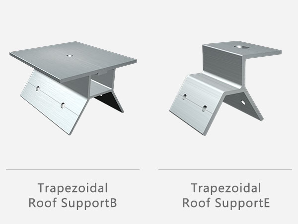 solar panel roof mounting rails