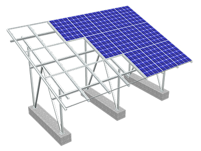 Water Tight Solar Panel Racking