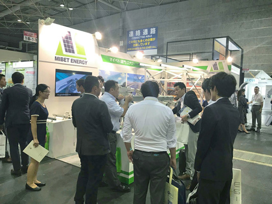 "Focus on OSAKA 2017 Mibet ""Aerospace-grade"" Material Application in Solar Mounting Solution Gain Praises from Domestic and Oversea Visitors"