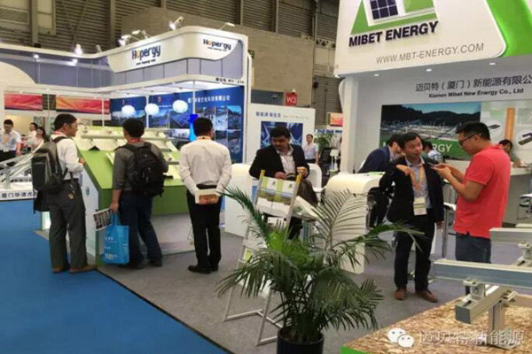 2016 Shanghai SNEC: Extraordinary choice, Mibet makes photovoltaic mounting systems smarter.