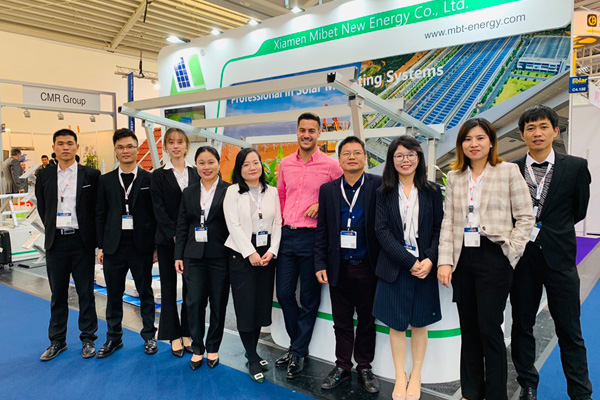 "Wonderful Review of Intersolar 2019I Mibet New Energy Usher in a New Epoch of"" Photovoltaic Bracket """