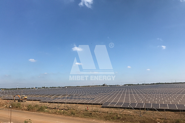 Good News I Mibet Energy's Structures help 120MW PV Power On-grid to EVN Vietnam