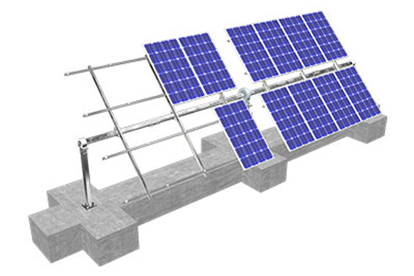 Analysis of Ground PV Mounting System