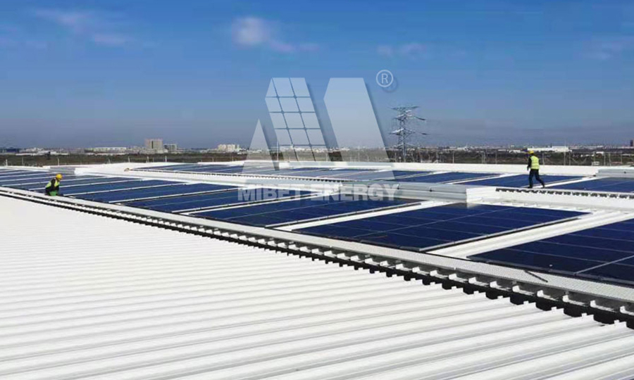 Roof Mounting System in China 7MW