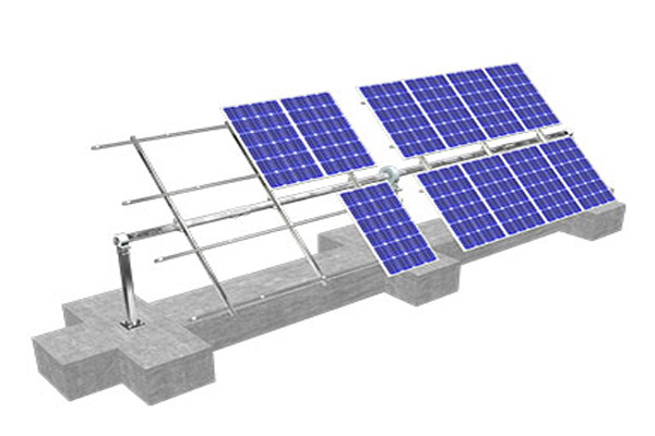 Smart Tilt Single Axis Tracking Solar Mounting System