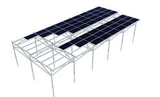 MRac  Agricultural Greenhouses Mounting System