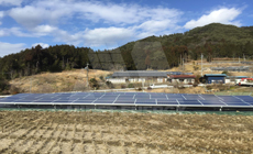 2 2016 in Japan  using MRac Ground Terrace IV installation 66.56kw implementation of solar projects