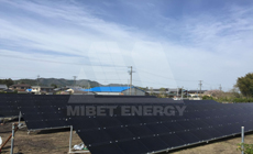 4 2016 in Japan  using MRac Ground Terrace IV installation 48kw implementation of solar projects