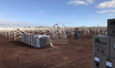 4 2017 in Australia Whyalla using  MRac Ground Terrace installation 6MW implementation of solar projects