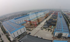 11 2014 in China  Zhejiang using MRac Roofon Versatile Interfaces installation 3.26MW implementation of solar projects