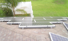 3 2012 in South-East Asia  using MRac Roof Mounting System installation 28kw implementation of solar projects